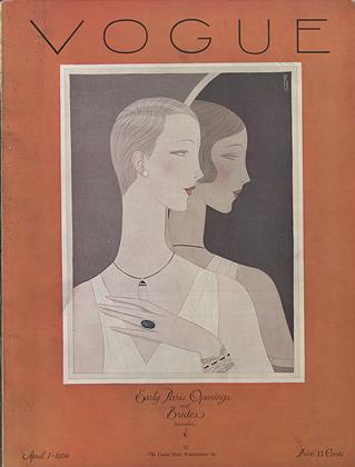 Cover for the April 1 1926 issue