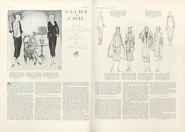 A Guide to Chic for the Woman of Forty or More