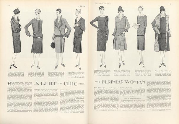 A Guide to Chic for the Business Woman