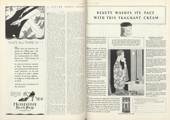 Article Preview: , March 1 1927 | Vogue