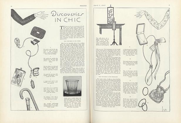 Article Preview: , April 1 1927 | Vogue