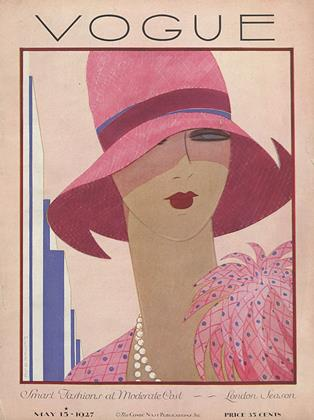Cover for the May 15 1927 issue