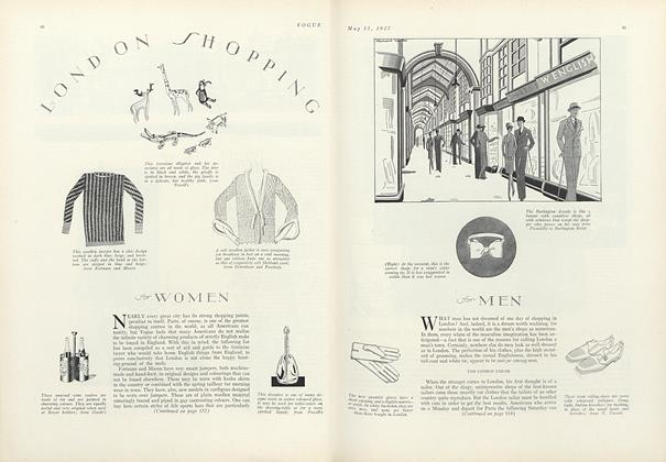 London Shopping for Women