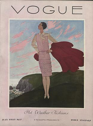 Cover for the July 1 1927 issue