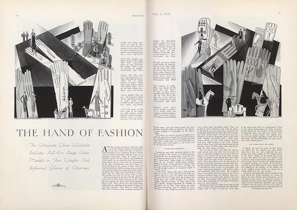 The Hand of Fashion