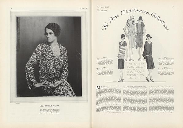 Article Preview: The Paris Mid-Season Collections, July 15 1927 | Vogue
