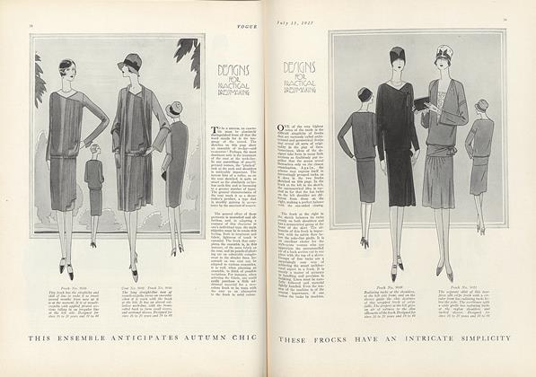 Article Preview: , July 15 1927 | Vogue