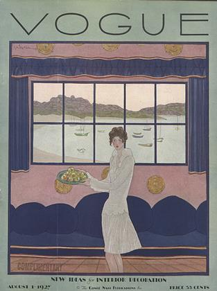 Cover for the August 1 1927 issue
