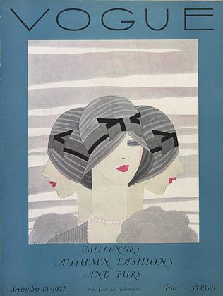 Cover for the September 15 1927 issue