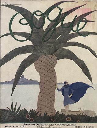 Cover for the January 1 1928 issue