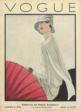 Cover for the January 15 1928 issue