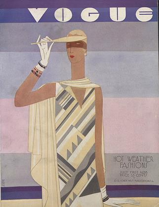 Cover for the July 1 1928 issue