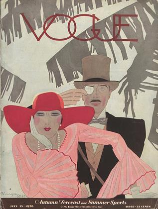 Cover for the July 15 1928 issue