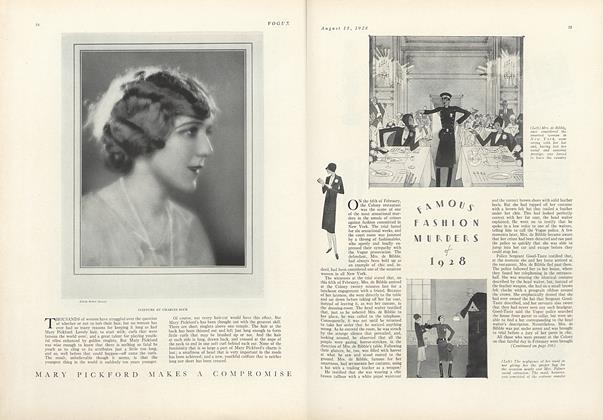 Famous Fashion Murders of 1928