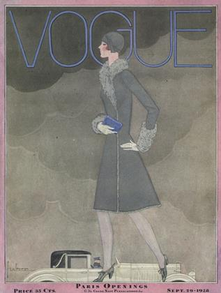 Cover for the September 29 1928 issue