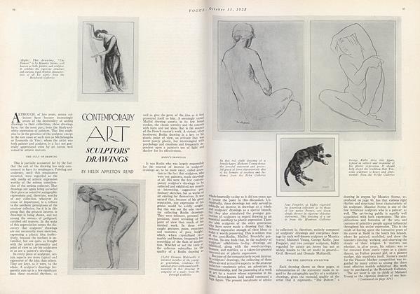 Contemporary Art: Sculptors' Drawings