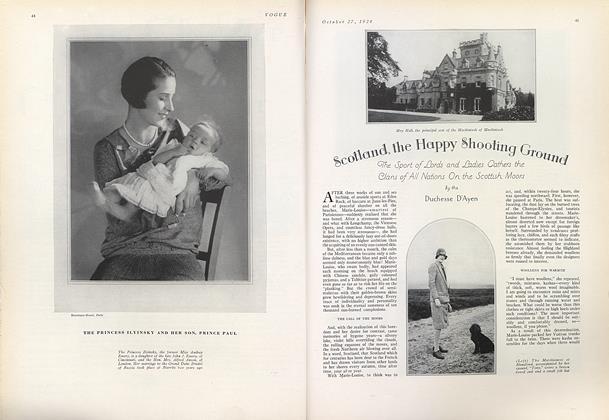 Scotland, the Happy Shooting Ground