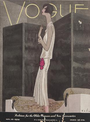 Cover for the November 10 1928 issue