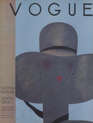 January 5, 1929 | Vogue
