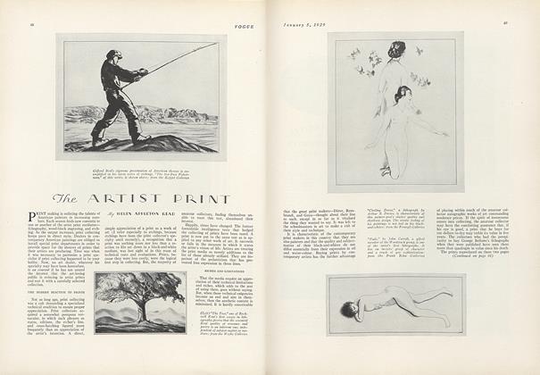 The Artist Print