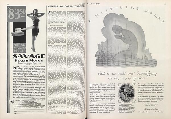 Article Preview: , March 16 1929 | Vogue
