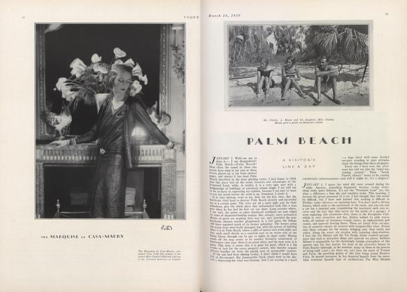 Article Preview: Palm Beach, March 16 1929 | Vogue