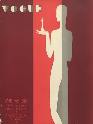April 13, 1929 | Vogue