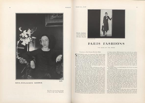 Article Preview: Paris Fashions, April 13 1929 | Vogue