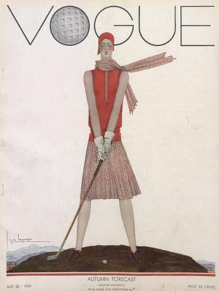 Cover for the July 20 1929 issue
