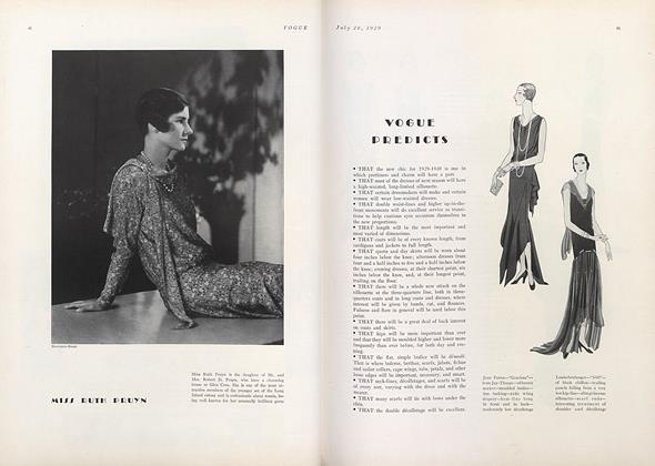 Vogue Predicts
