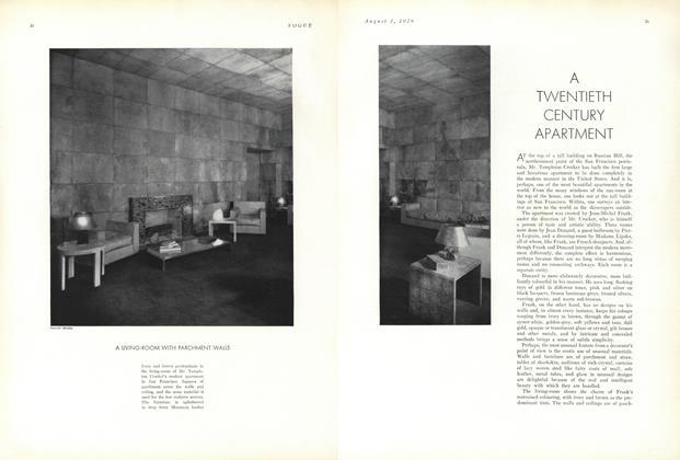 A Twentieth Century Apartment