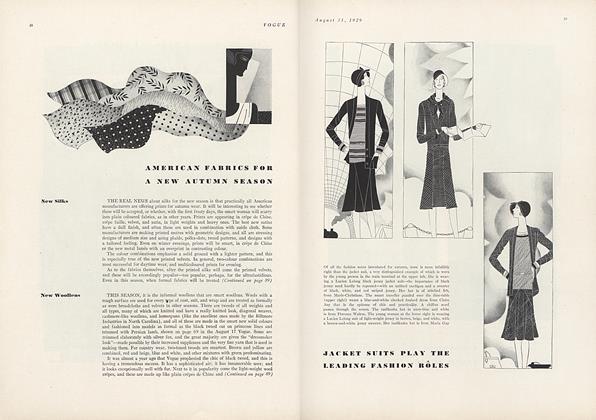 American Fabrics for a New Autumn Season