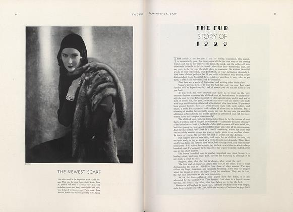 The Fur Story of 1929