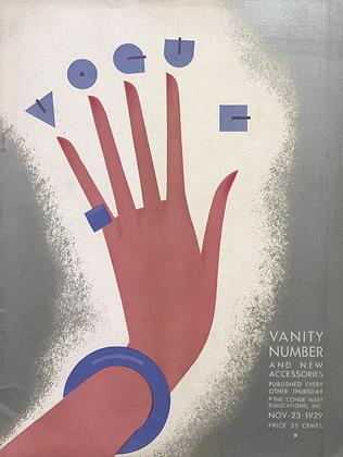 Cover for the November 23 1929 issue