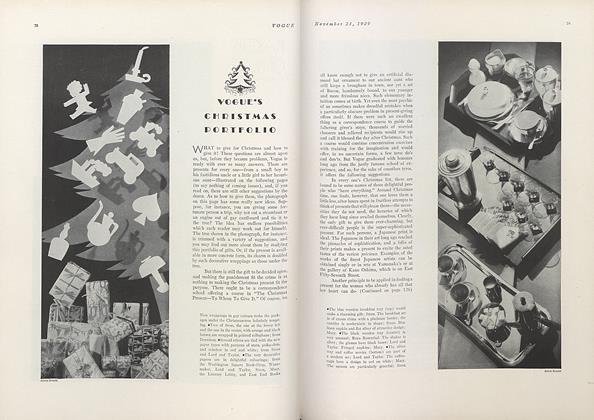 Vogue's Christmas Portfolio
