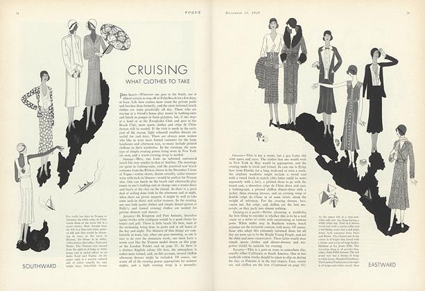 Cruising—What Clothes to Take
