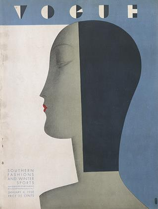 Cover for the January 4 1930 issue