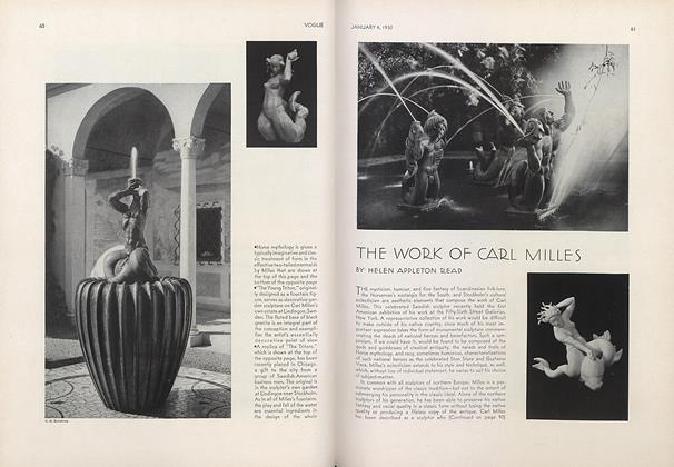 The Work of Carl Milles