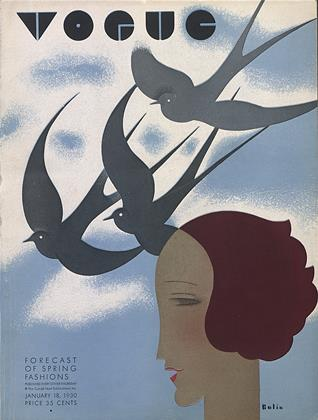Cover for the January 18 1930 issue