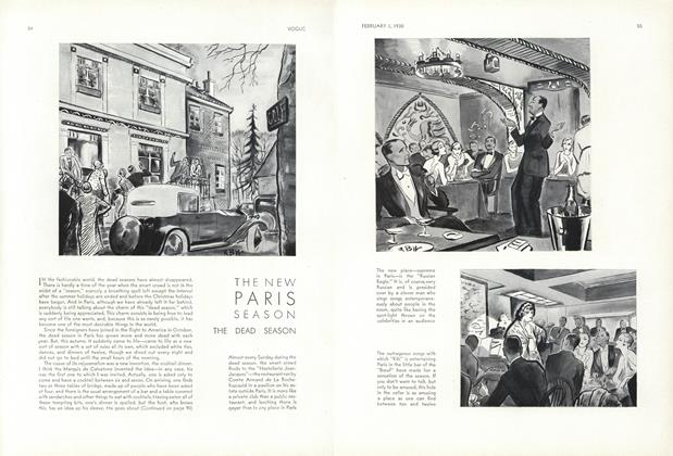 The New Paris Season—The Dead Season