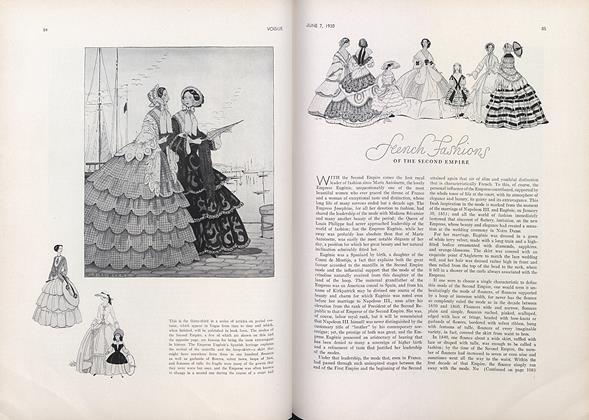 French Fashions of the Second Empire