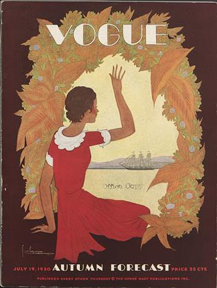 Cover for the July 19 1930 issue