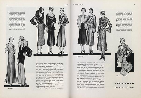 A Wardrobe for the College Girl