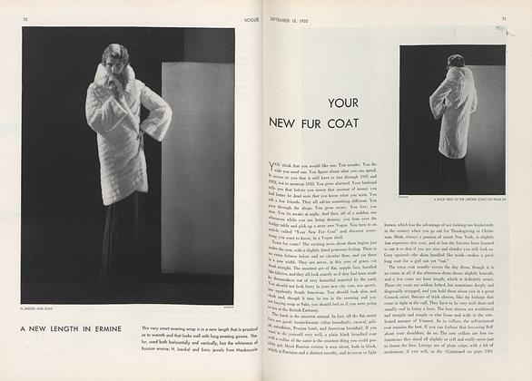 Your New Fur Coat