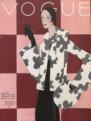 Cover for the October 27 1930 issue