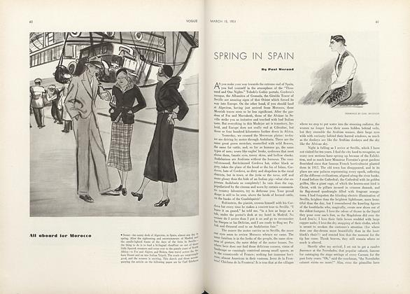 Article Preview: Spring in Spain, March 15 1931 | Vogue