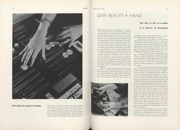 Give Beauty a Hand