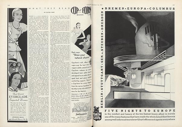 Article Preview: , March 15 1931 | Vogue