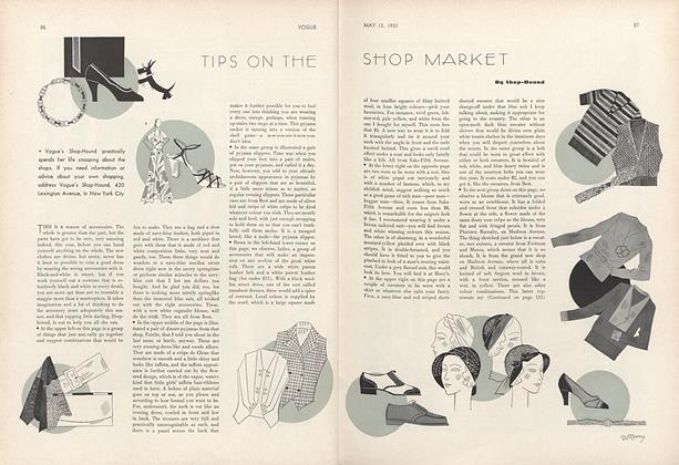 Tips on the Shop Market by Shop-Hound