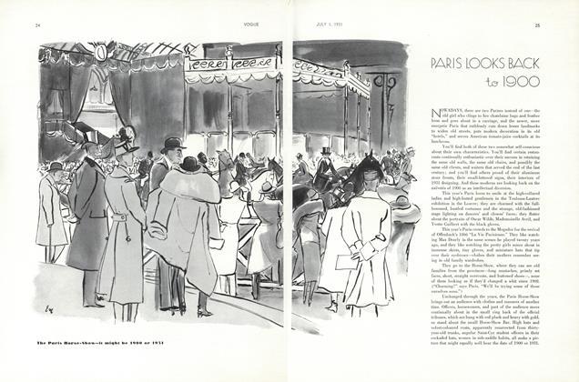 Paris Looks Back to 1900